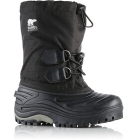 Sorel Super Trooper Laarzen Kinderen, black/light grey